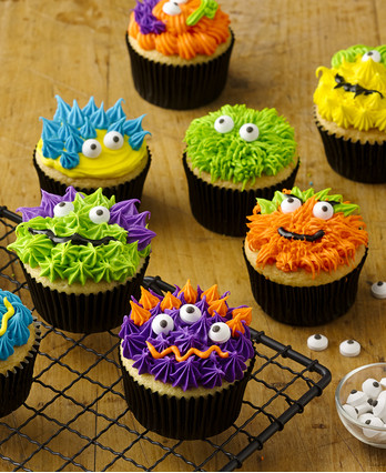 Food-Celebrations - Scary Monster Cupcakes - Walmart.com