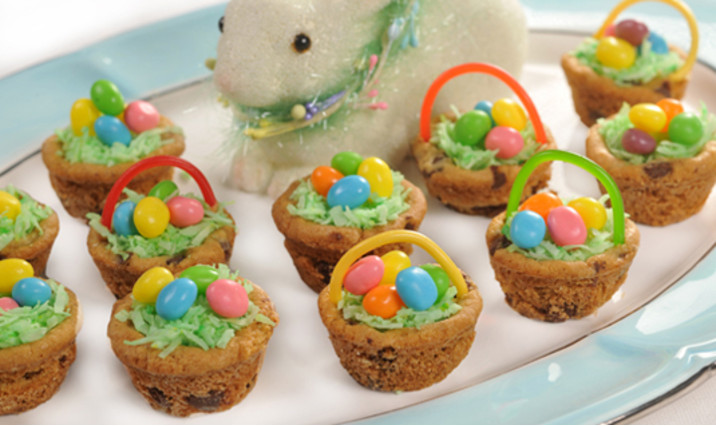 Easter candy baskets eggs and decorations walmart chocolate chip easter baskets negle Image collections