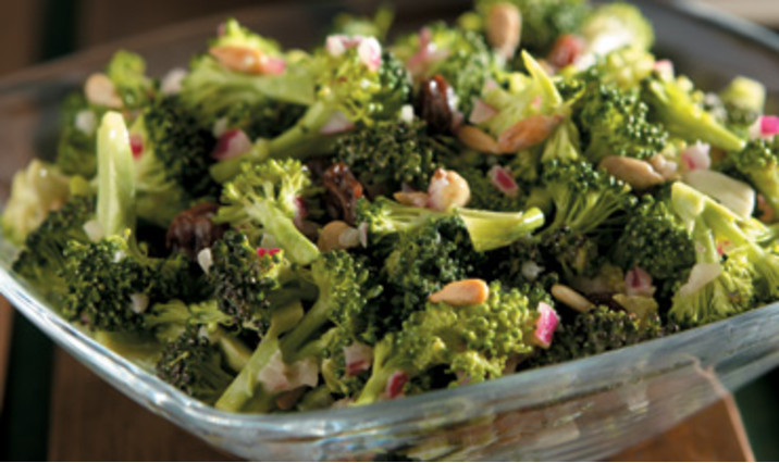 Raw Broccoli Salad Recipe Walmart Com