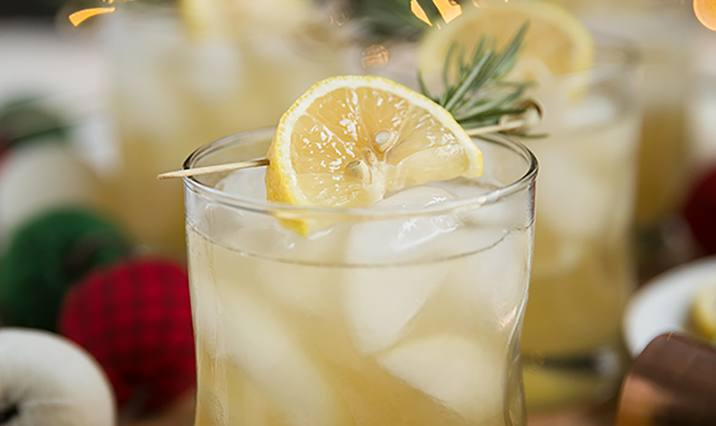Rosemary Maple Whisky Sour
