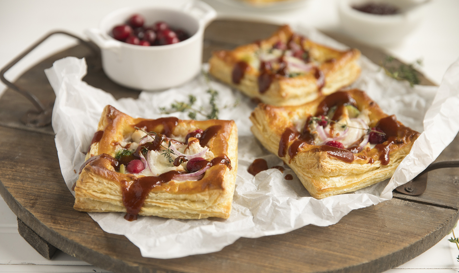 Bbq cranberry leftover turkey tarts recipe walmart forumfinder Image collections
